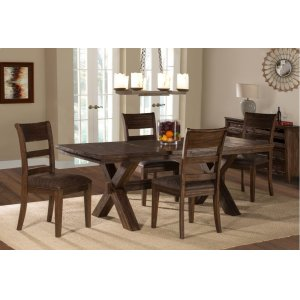 Hillsdale FurniturePark Avenue 5-piece Dining Set - Walnut (wirebrush)