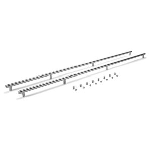 WhirlpoolSide-by-Side Refrigerator Euro/Towel Bar Style Handle Kit