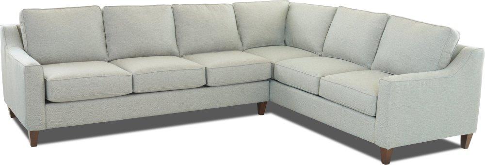 Dwell Living Room Jesper Sectional G2400 SECT