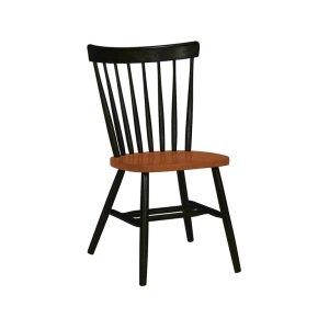 JOHN THOMAS FURNITURECopenhagen Chair in Black & Cherry