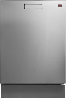 Built-in Dishwasher with recessed handle - Stainless Steel