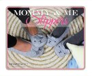 Mommy & Me Animal Slippers Sign. Product Image