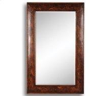 "Walnut & Oyster ""Fish Scale"" Rectangular Mirror"