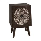 Carved Medallion Two Door Cabinet Product Image