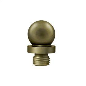Ball Tip - Antique Brass