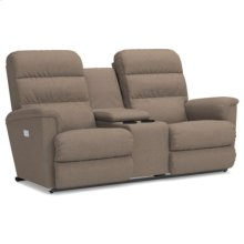 Tripoli Power Wall Reclining Loveseat w/ Console