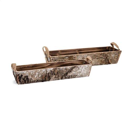 Woodland Bins - Set of 2
