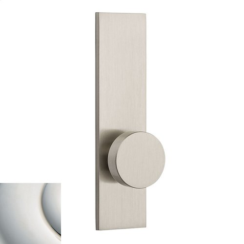 Polished Nickel with Lifetime Finish Contemporary K010 Knob Screen Door