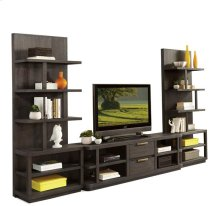 Precision Entertainment Console Umber finish