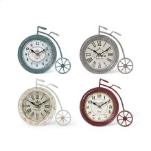 Lucius High Wheel Bicycle Clocks - Ast 4