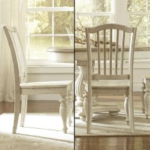 Mix-n-match Chairs - Side Chair - Dover White Finish