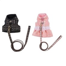 2 set. ppk. Pet Outfit & Leash Small
