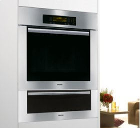 """Classic Clean Touch Steel TM U-Shaped 30"""" Warming Drawer"""