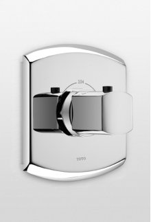 Brushed Nickel Soiree® Thermostatic Mixing Valve (Trim only)