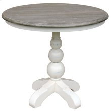 Soho Cafe Table- Wht/rw
