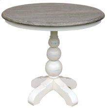 Soho Cafe Table- Wht/rw