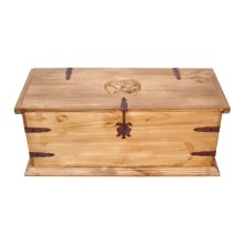 "39"" Rect Trunk W/star"
