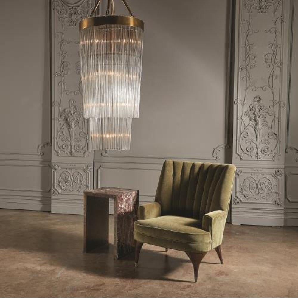Duncan Chair-Moss Velvet