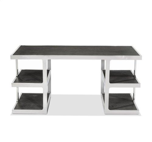 Soto Desk - Charcoal Ceruse