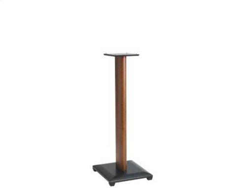 "Cherry 30"" Natural Series Wood Pillar Speaker Stands - Pair"