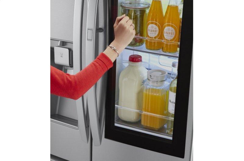 24 cu  ft  InstaView Door-in-Door® Counter-Depth Refrigerator