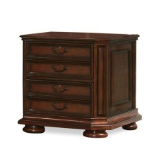 Cantata File Cabinet Burnished Cherry finish