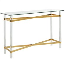 Morelia Console Table in Gold