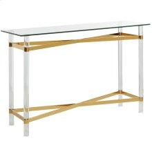 Morelia Console Table in Gold