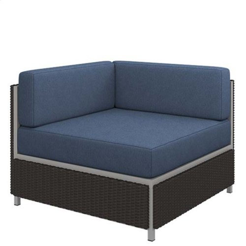 "Cabana Club Cushion Square Corner Module (17"" Seat Height)"