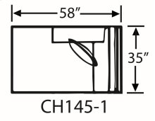 Sectional Component-One Arm Chaise
