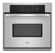 30-inch Single Wall Oven with AccuBake® Temperature Management System