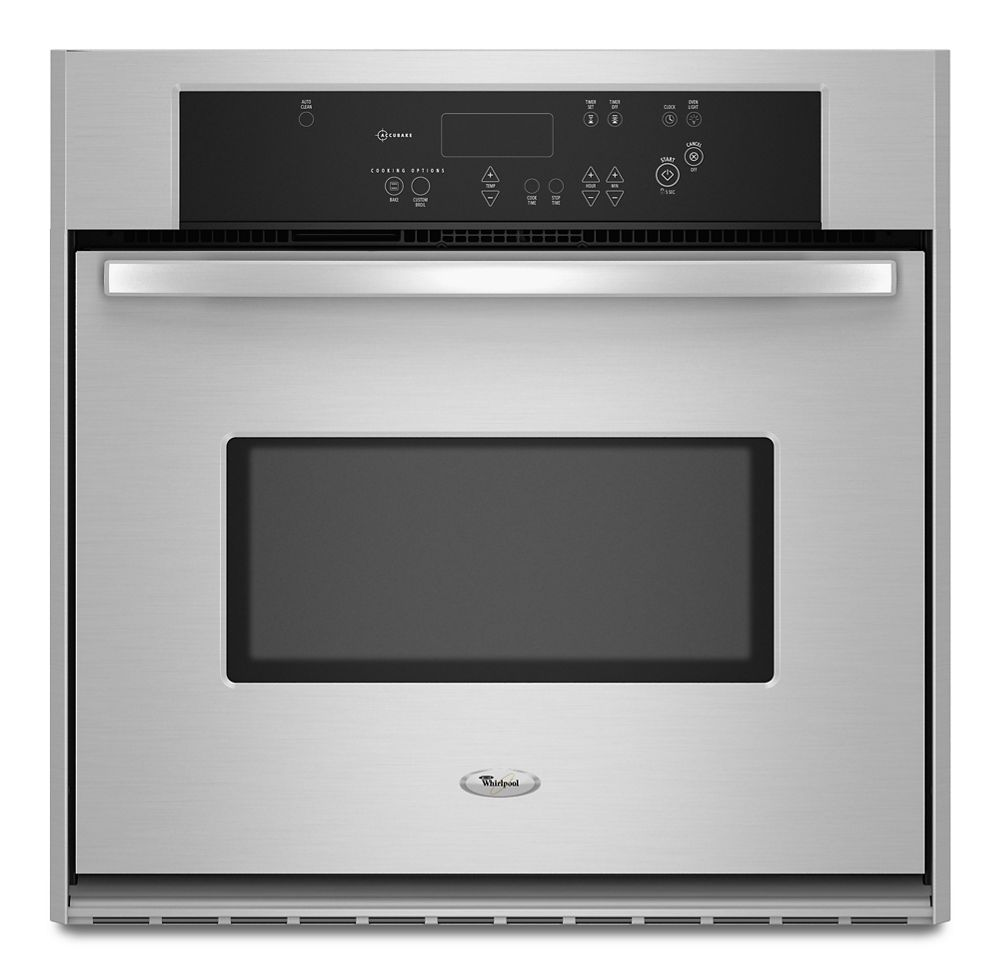 30 inch wall oven kitchenaid 30inch single wall oven with accubake temperature management system hidden rbs305pvs in stainless steel by whirlpool edgerton mn