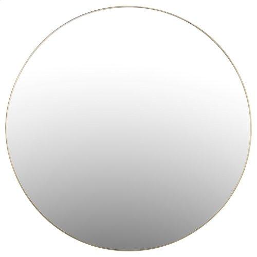 Bellvue Round Mirror-polished Brass