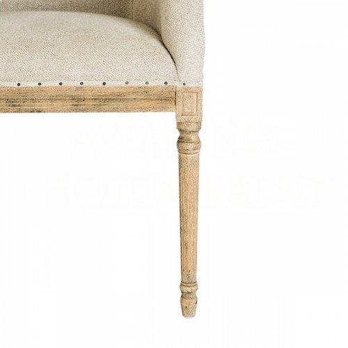 Moss Linen Dining Chair