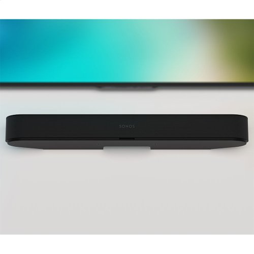 Black- Easily and securely mounts Beam to your wall.