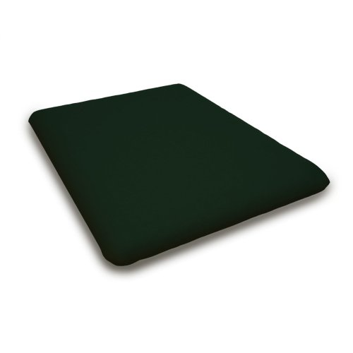 "Forest Green Seat Cushion - 17.25""D x 22""W x 2.5""H"