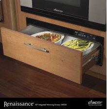 "Renaissance 27"" Integrated Warming Drawer"