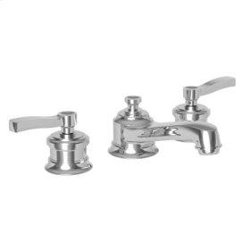 Matte White Widespread Lavatory Faucet