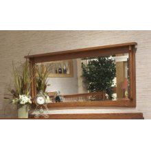 Largo Oak Mirror