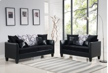Black Sofa, Loveseat