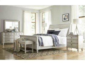 Hanover Sleigh Cal King Bed Complete