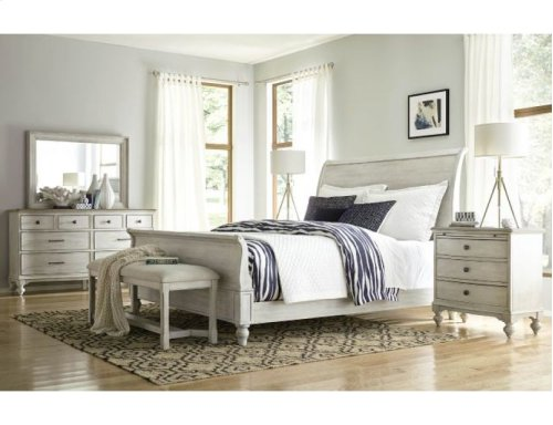 Hanover Sleigh King Bed Complete