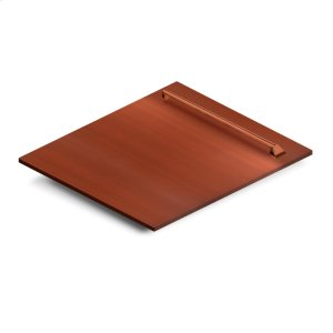"""Zline Kitchen24"""" Dishwasher Panel in Copper with Traditional Handle (DP-C-H-24)"""