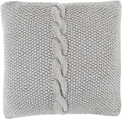 """Genevieve GN-003 22"""" x 22"""" Pillow Shell with Polyester Insert"""