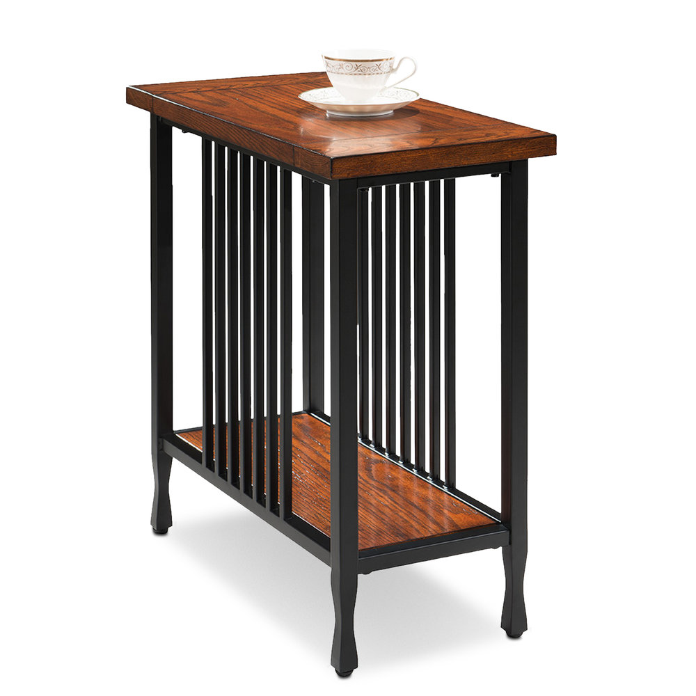 Narrow Chairside Table - Ironcraft Collection #11205