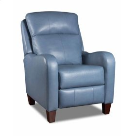 Leather Power Headrest Hi-Leg Recliner (available in Fabric)