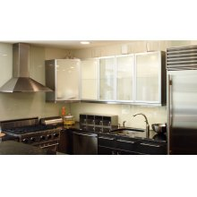 """36"""" Synthesis - Wall Hood w/600 cfm Blower, LED controls"""