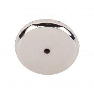 Aspen II Round Backplate 1 3/4 Inch - Polished Nickel