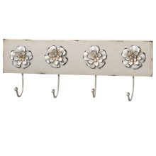 Jaime Rose Flower Wall Hook.
