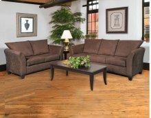 1000 Sienna Chocolate Sofa and Loveseat